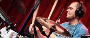 Christian Unsinn - drums and electronics © stecher