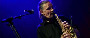Hannes Sprenger - saxes and vocals © stecher